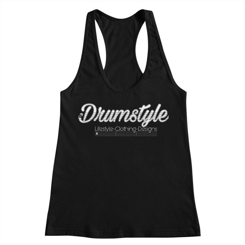 DRUMSTYLE LOGO Women's Racerback Tank by Online Store