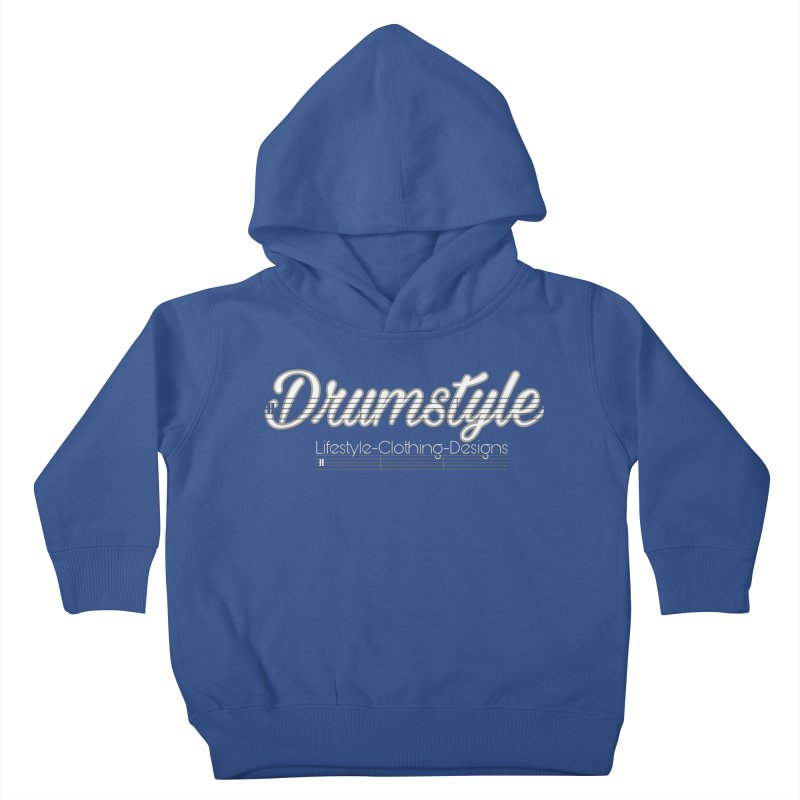 DRUMSTYLE LOGO Kids Toddler Pullover Hoody by Online Store