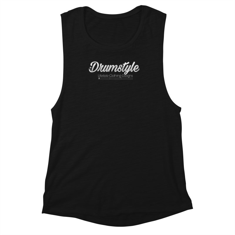 DRUMSTYLE LOGO Women's Muscle Tank by Online Store