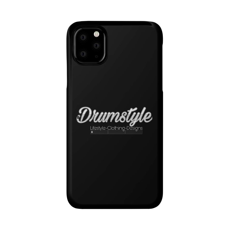 DRUMSTYLE LOGO Accessories Phone Case by Online Store