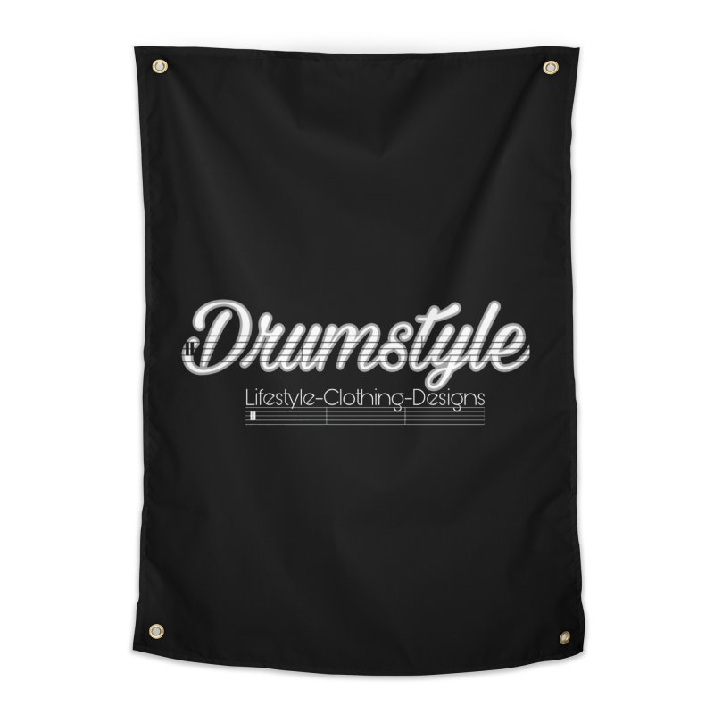 DRUMSTYLE LOGO Home Tapestry by Online Store