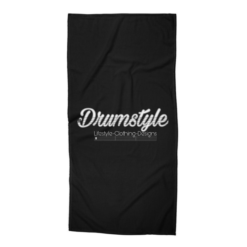 DRUMSTYLE LOGO Accessories Beach Towel by Online Store