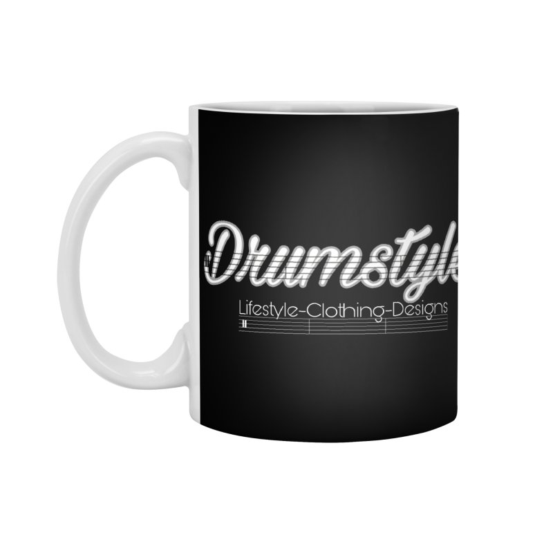 DRUMSTYLE LOGO Accessories Mug by Online Store