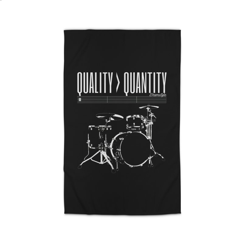 QUALITY OVER QUANTITY Home Rug by Online Store
