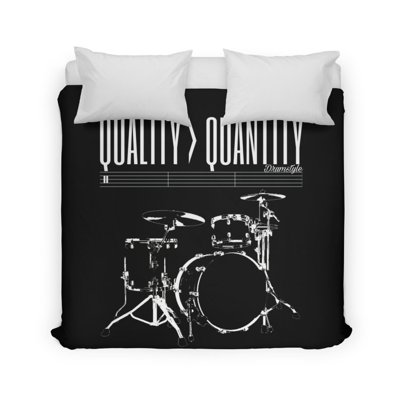 QUALITY OVER QUANTITY Home Duvet by Online Store