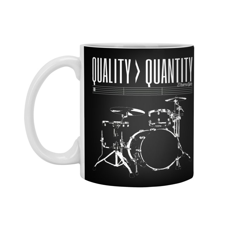 QUALITY OVER QUANTITY Accessories Mug by Online Store