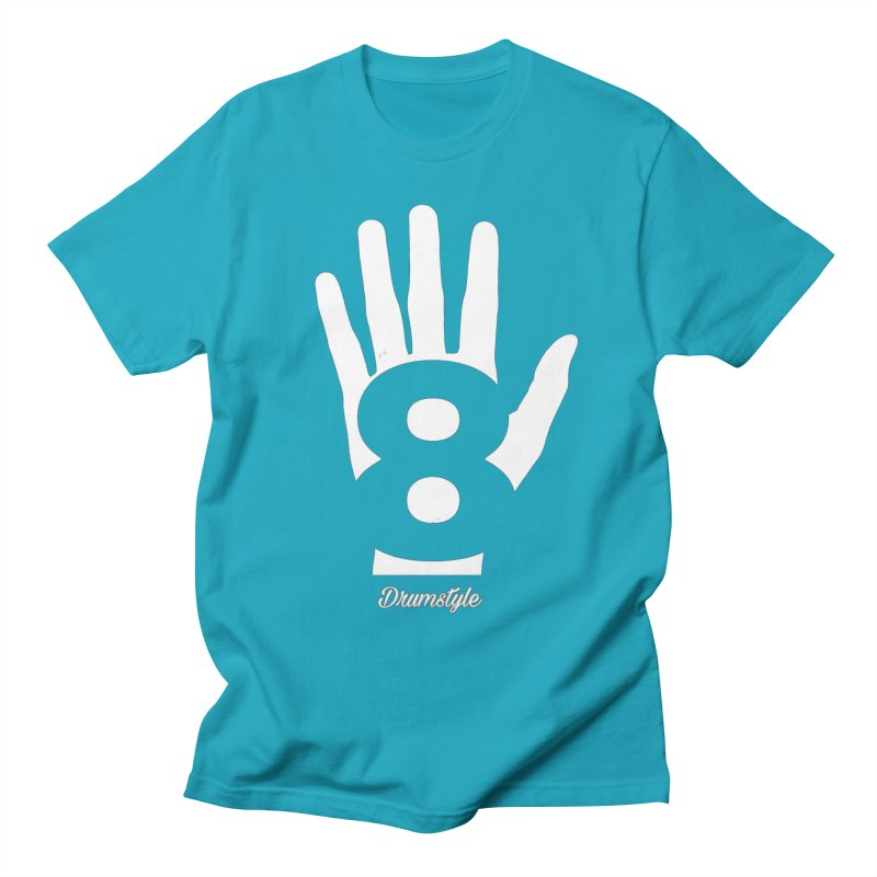 8 ON A HAND by Drumstyle Men's T-Shirt by Online Store