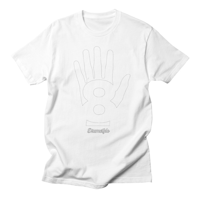 8 ON A HAND by Drumstyle Men's Regular T-Shirt by Online Store
