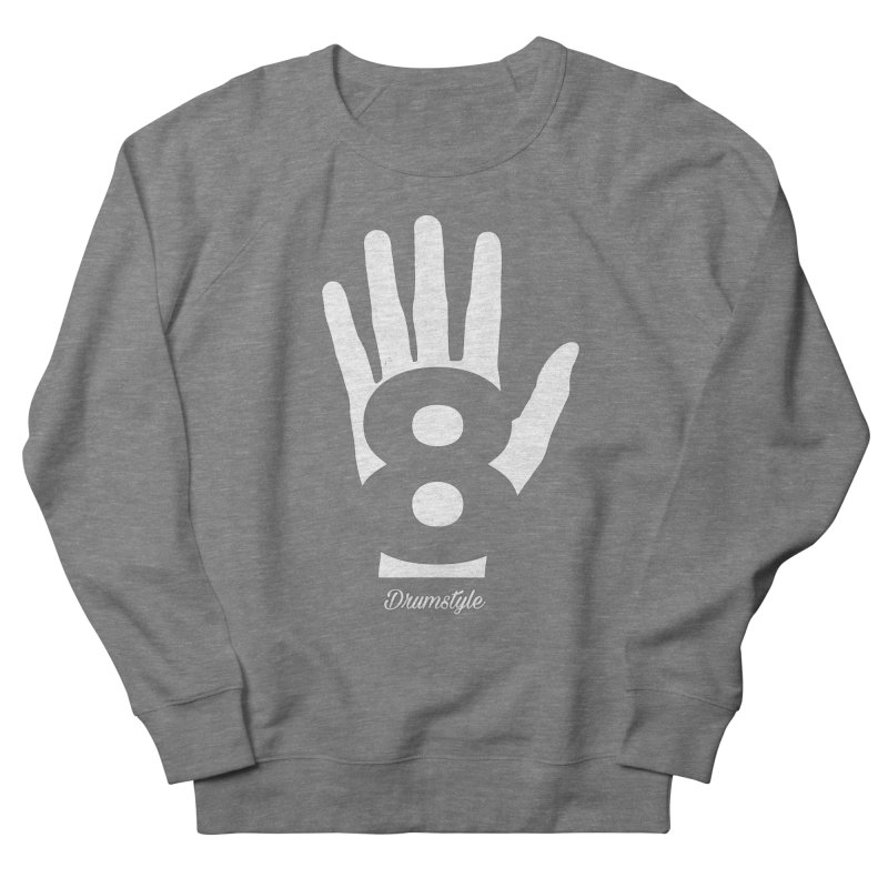 8 ON A HAND by Drumstyle Men's French Terry Sweatshirt by Online Store