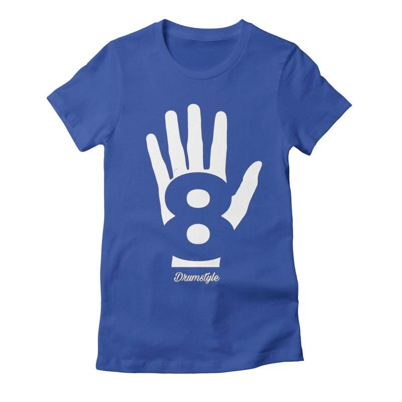 8 ON A HAND by Drumstyle Women's T-Shirt by Online Store