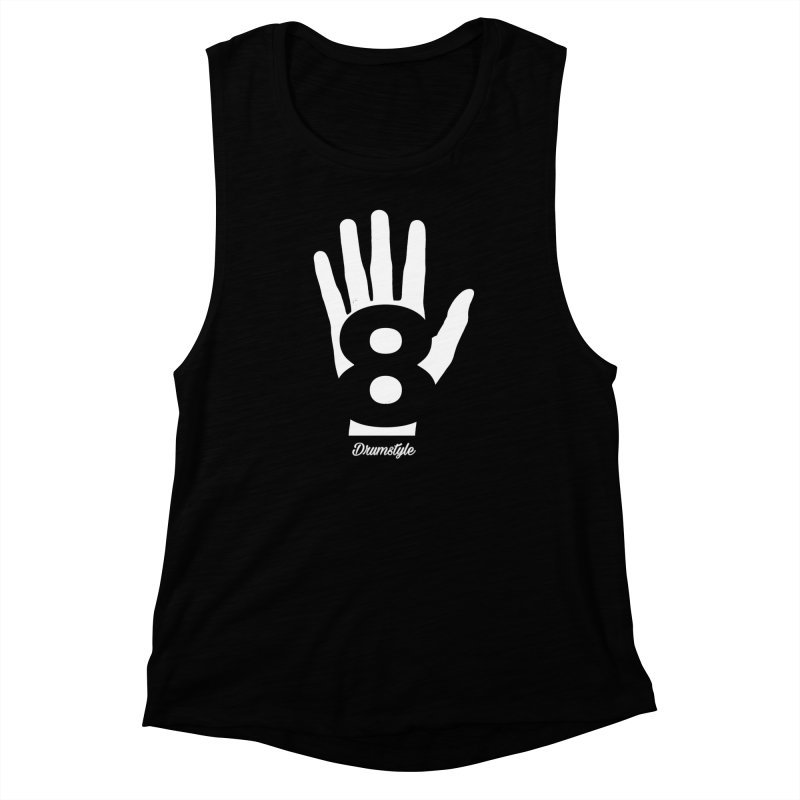 8 ON A HAND by Drumstyle Women's Muscle Tank by Online Store