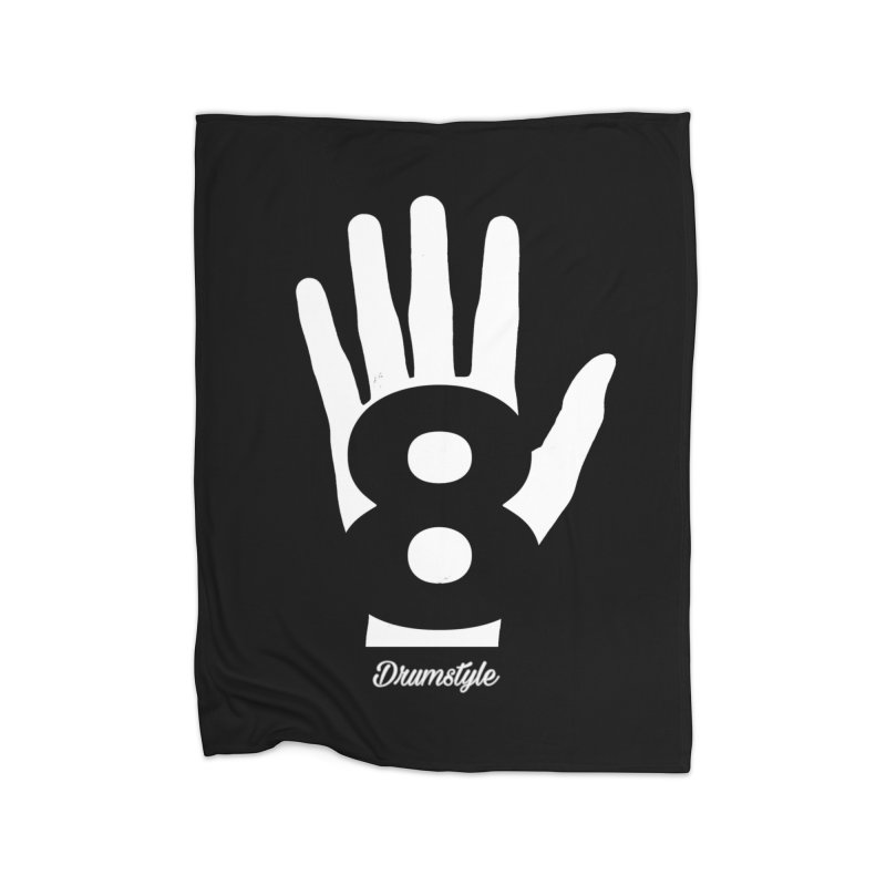 8 ON A HAND by Drumstyle Home Fleece Blanket Blanket by Online Store