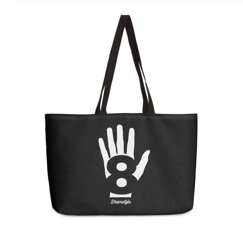 8 ON A HAND by Drumstyle in Weekender Bag by Online Store
