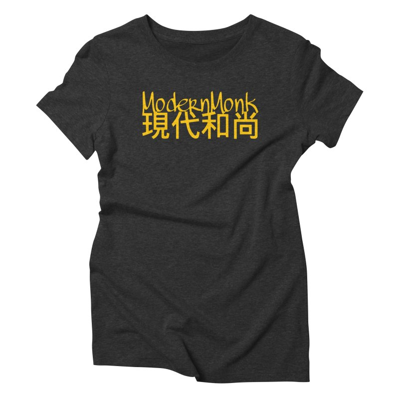 ModernMonk Women's Triblend T-shirt by Online Store