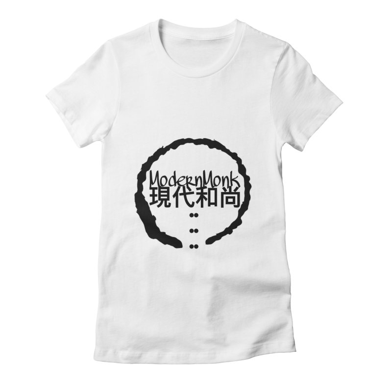 ModernMonkZen Women's Fitted T-Shirt by Online Store