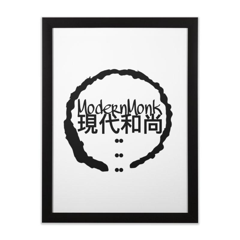 ModernMonkZen Home Framed Fine Art Print by Online Store