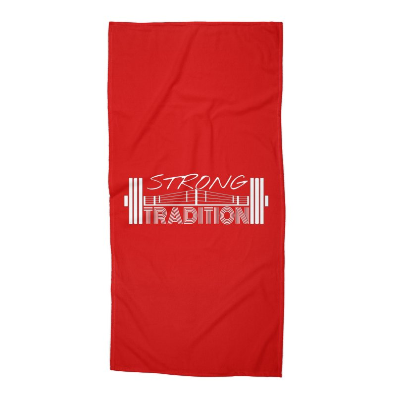 strong tradition 2 Accessories Beach Towel by Online Store