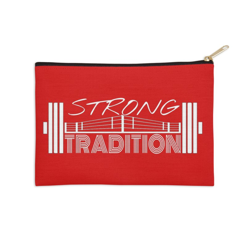 strong tradition 2 Accessories Zip Pouch by Online Store