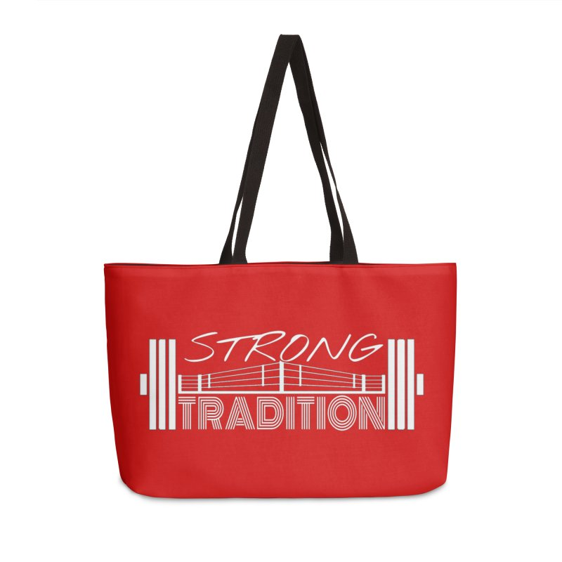 strong tradition 2 Accessories Weekender Bag Bag by Online Store