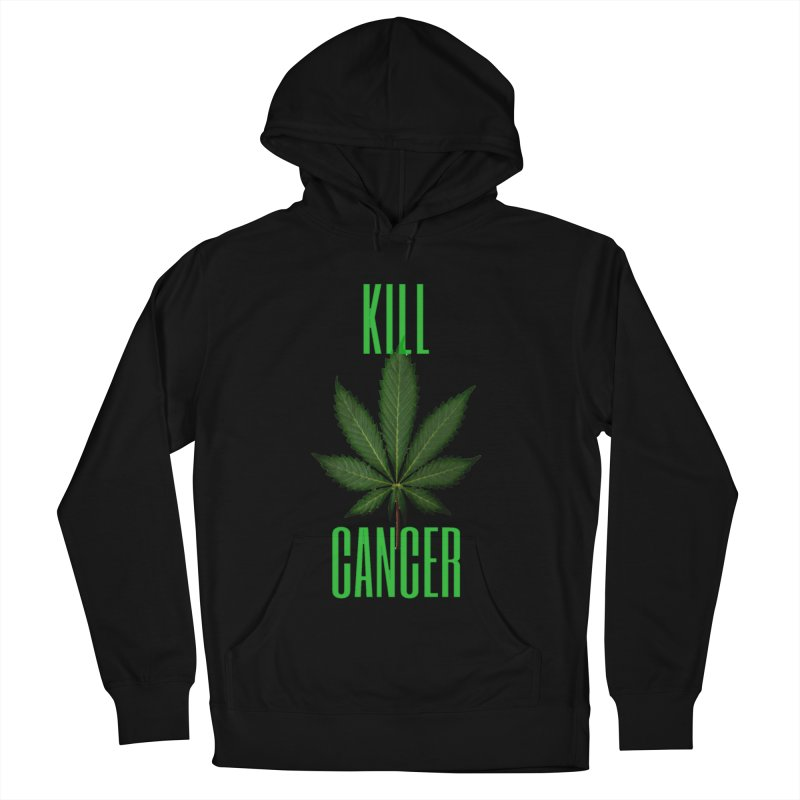 Kill Cancer Men's French Terry Pullover Hoody by Online Store