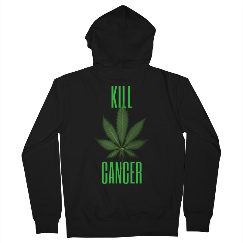 Kill Cancer Women's French Terry Zip-Up Hoody by Online Store
