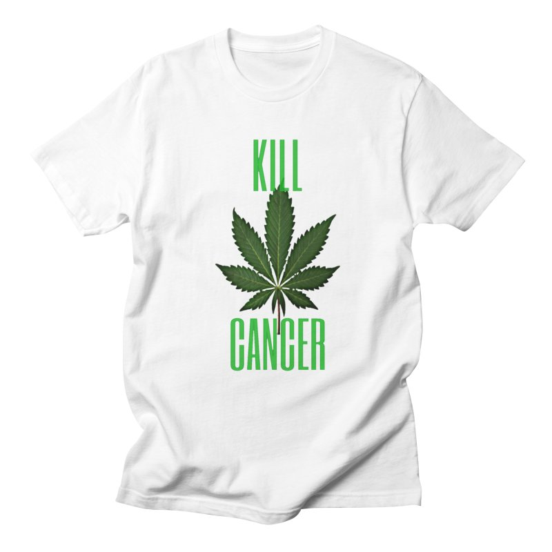 Kill Cancer Men's Regular T-Shirt by Online Store