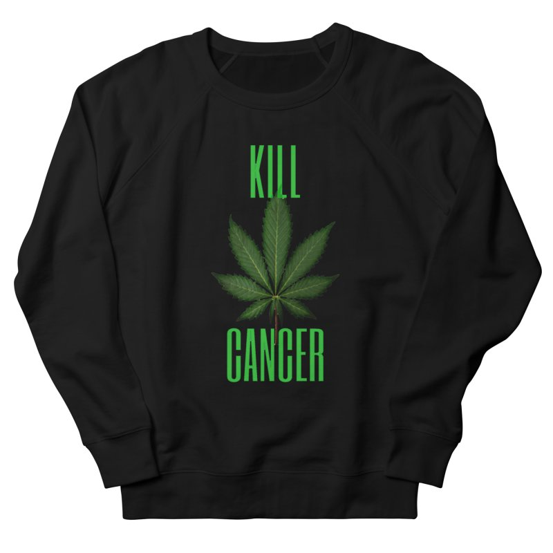 Kill Cancer Men's French Terry Sweatshirt by Online Store