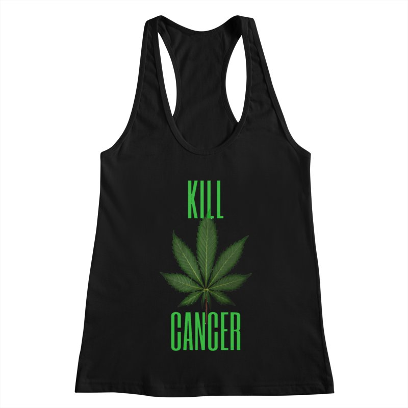 Kill Cancer Women's Racerback Tank by Online Store