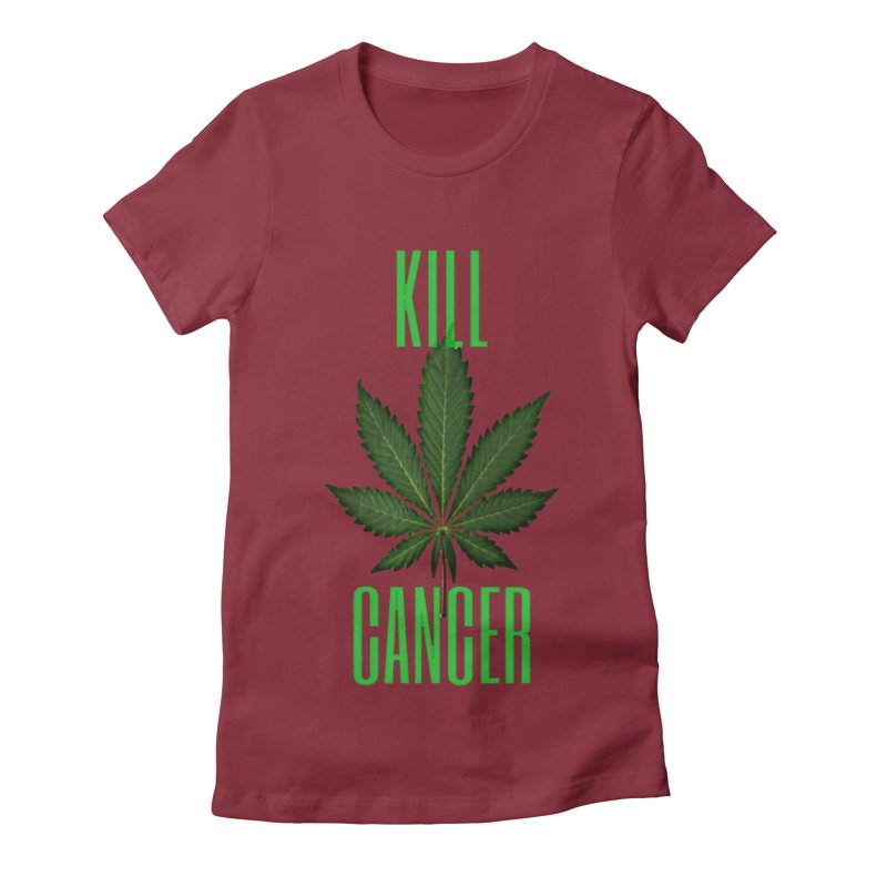 Kill Cancer Women's Fitted T-Shirt by Online Store