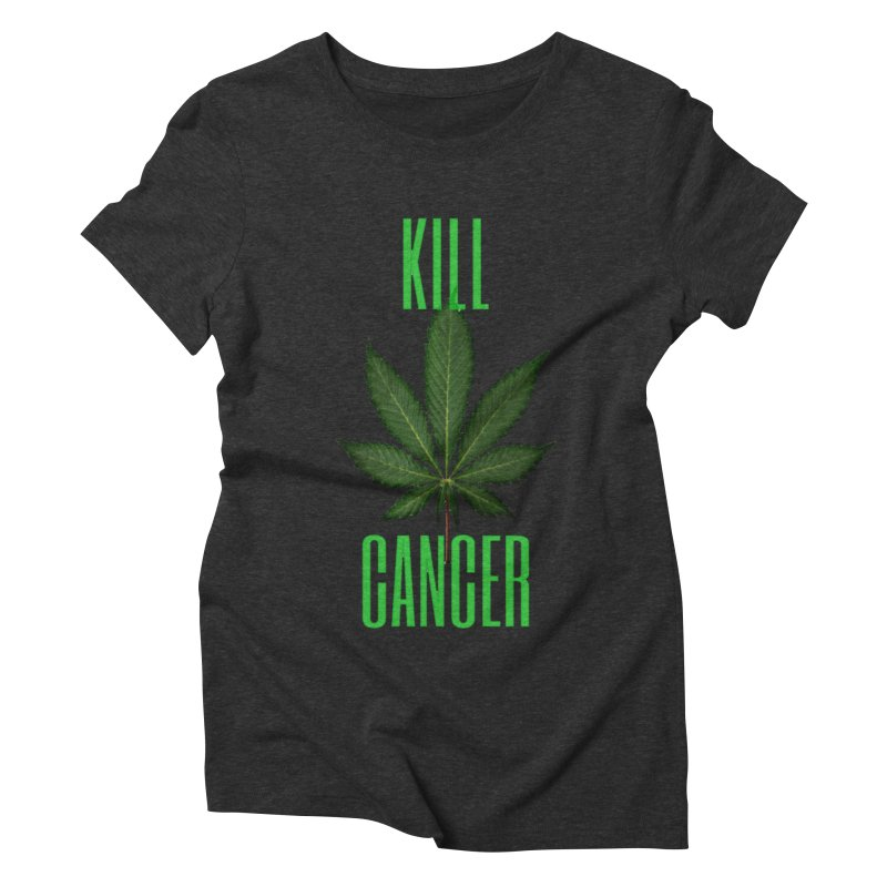 Kill Cancer Women's Triblend T-Shirt by Online Store