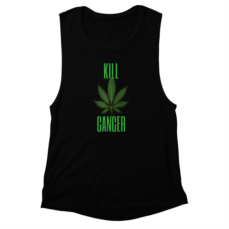 Kill Cancer Women's Muscle Tank by Online Store
