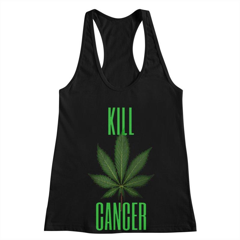 Kill Cancer Women's Racerback Tank by Online Store