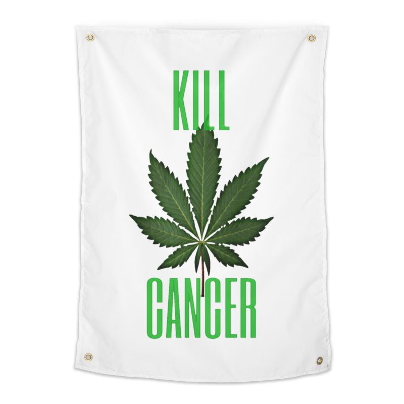 Kill Cancer Home Tapestry by Online Store