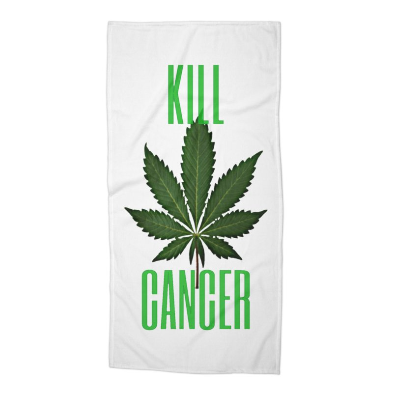 Kill Cancer Accessories Beach Towel by Online Store