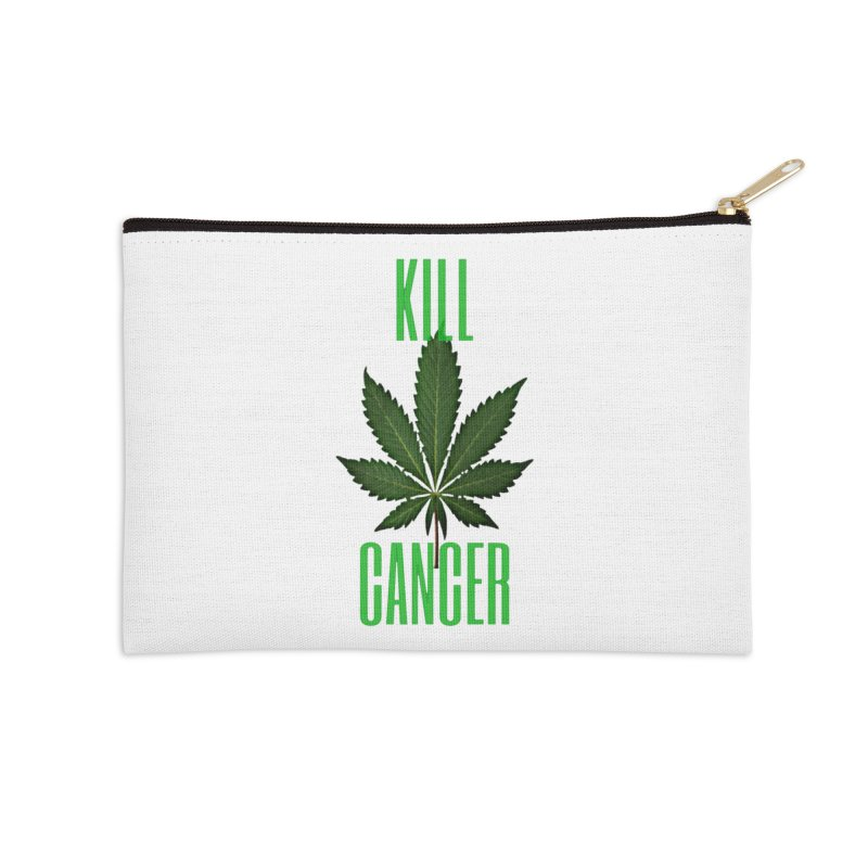 Kill Cancer Accessories Zip Pouch by Online Store