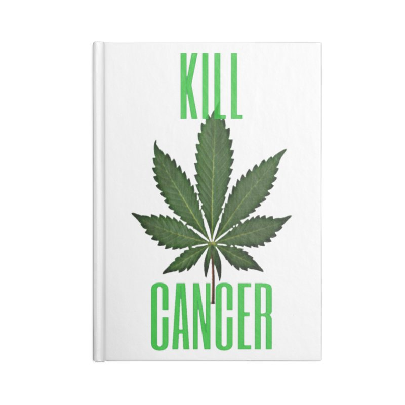 Kill Cancer Accessories Lined Journal Notebook by Online Store