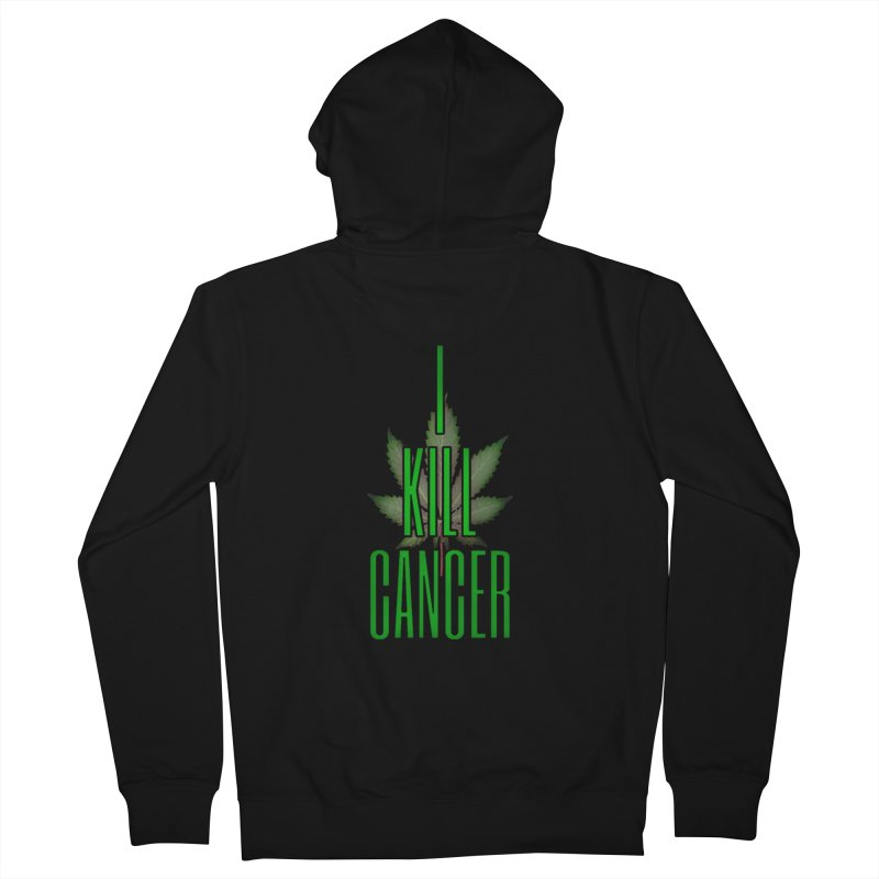 I Kill Cancer Men's Zip-Up Hoody by Online Store