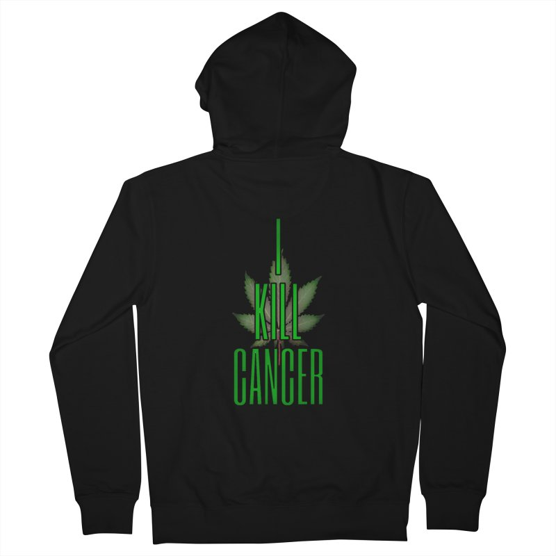 I Kill Cancer Women's Zip-Up Hoody by Online Store