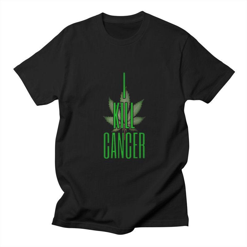 I Kill Cancer Men's Regular T-Shirt by Online Store