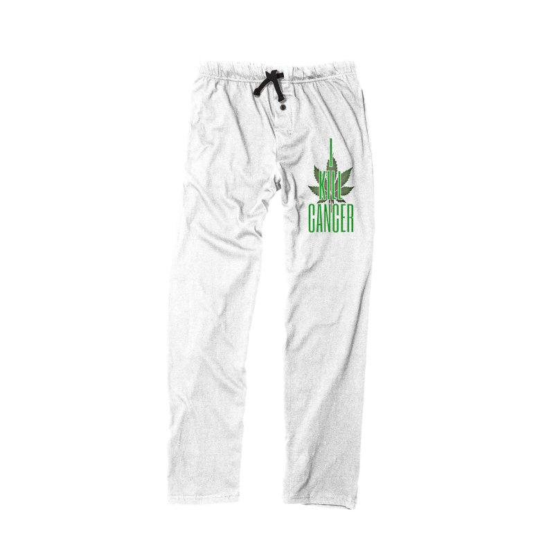 I Kill Cancer in Women's Lounge Pants Bottoms Black by Online Store