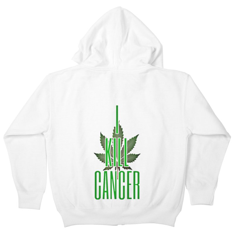 I Kill Cancer Kids Zip-Up Hoody by Online Store
