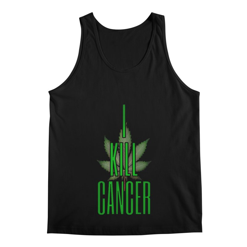 I Kill Cancer Men's Regular Tank by Online Store