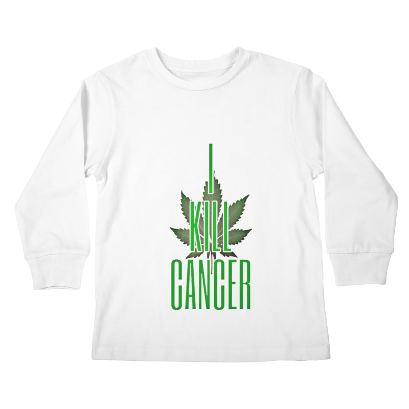 I Kill Cancer Kids Longsleeve T-Shirt by Online Store