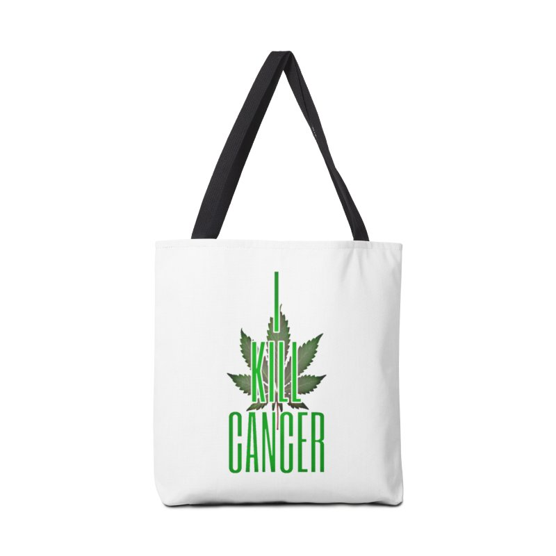I Kill Cancer Accessories Bag by Online Store