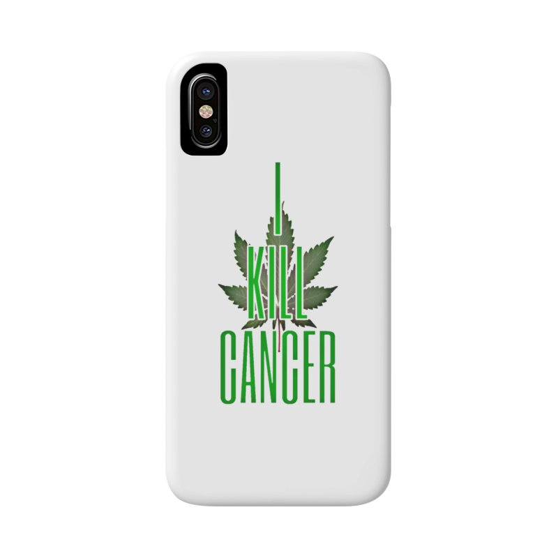 I Kill Cancer Accessories Phone Case by Online Store