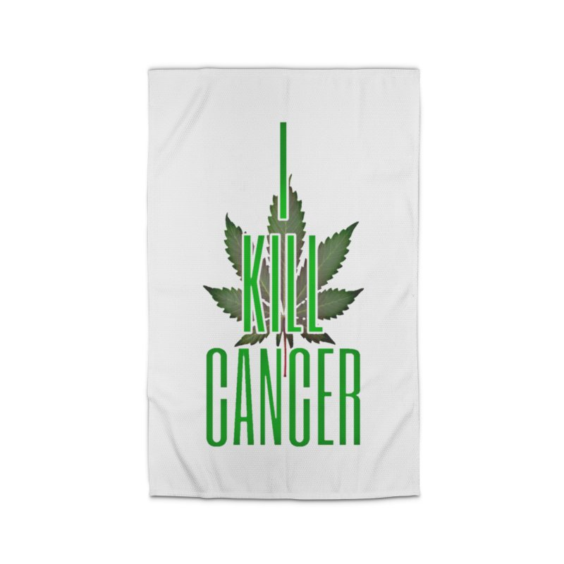 I Kill Cancer Home Rug by Online Store