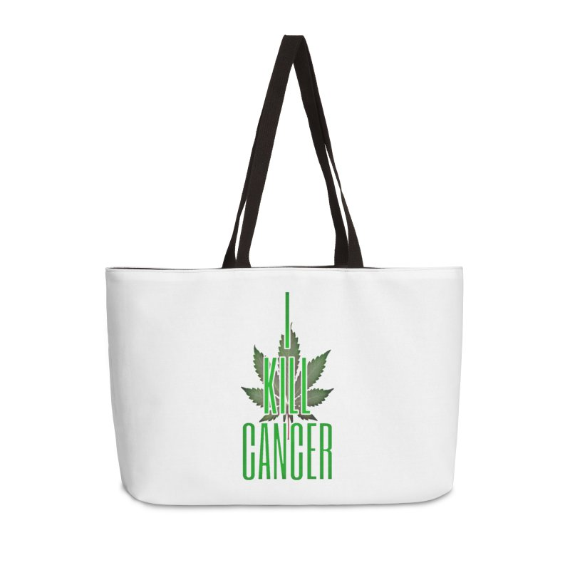 I Kill Cancer Accessories Weekender Bag Bag by Online Store