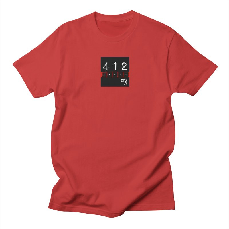 412teens Logo Merch Men's T-Shirt by 412teens' Merch Shop