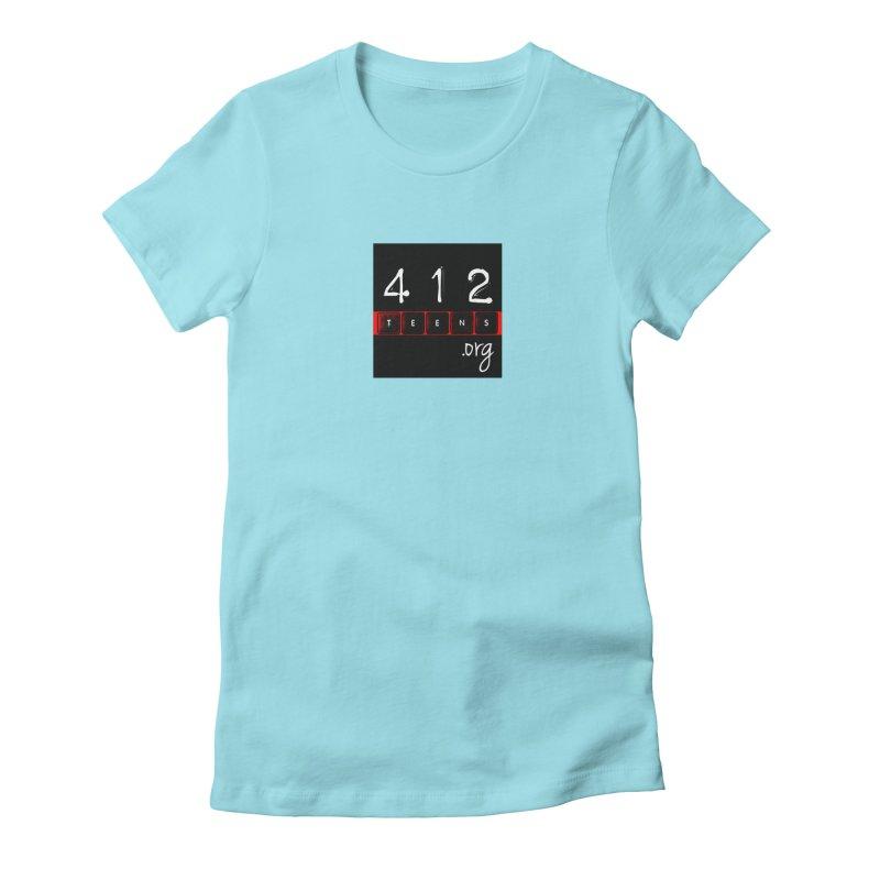 412teens Logo Merch Women's T-Shirt by 412teens' Merch Shop
