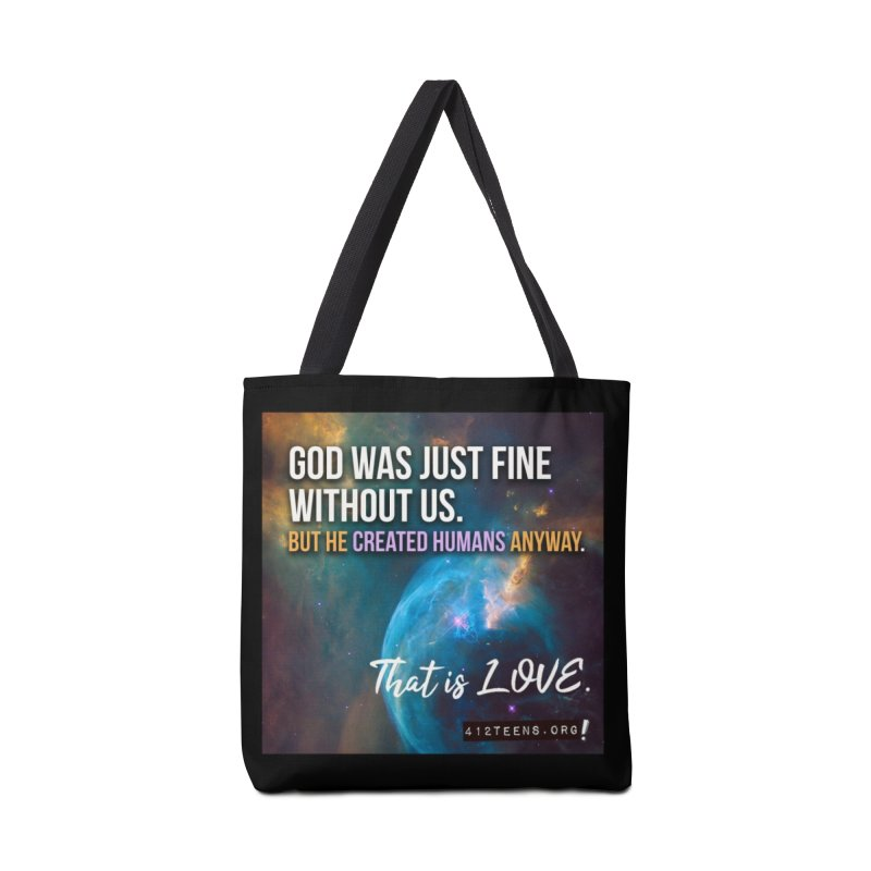 God Before Creation Accessories Bag by 412teens' Merch Shop